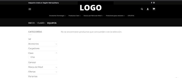 Errores de Landing Pages Vacías