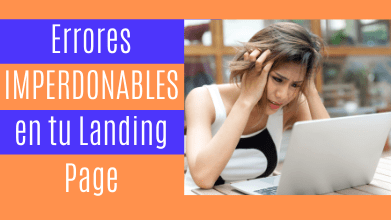 Errores Landing Pages