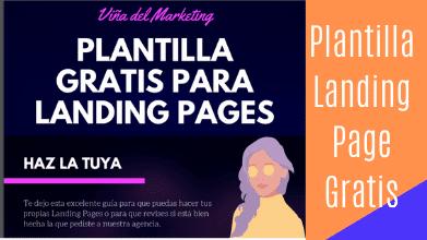 Plantilla Landing Page Gratis